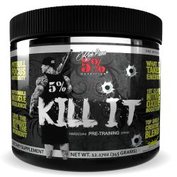 5% Nutrition Kill It Pre Workout 375g Lemon Line
