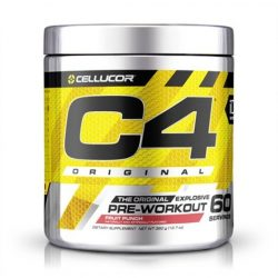 C4 original Pre workout 390g -  Fruit Punch2020.01 közeli lejárat