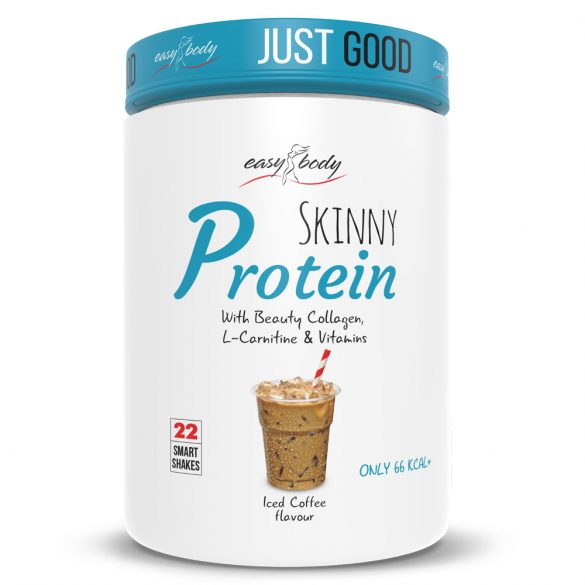 QNT Easy Body Skinny Collagen Protein 450g - Iced Coffee