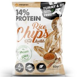 Forpro 14% Protein Rice Chips With Red Lentils 18x60g