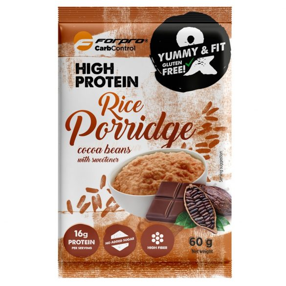 Forpro High Protein Rice Porridge with cocoa beans 20x60g 2022.08.17