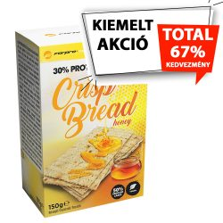 Forpro 30% Protein Crisp Bread - Honey - 10x150g 5999104001202 2021.10.15.