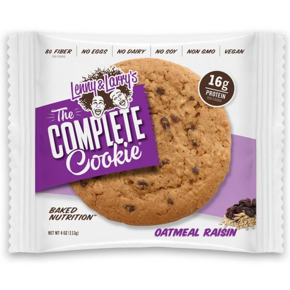 Lenny & Larry's, The Complete Cookie Oatmeal raisin