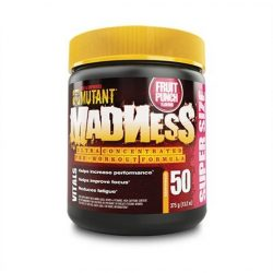 Mutant Madness preworkout Powder 375g - Blue raspberry