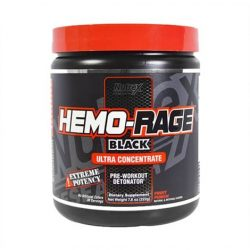 Hemo-Rage Black Ultra Preworkout Powder 222g - Fruit Punch 2020.01közeli lejárat