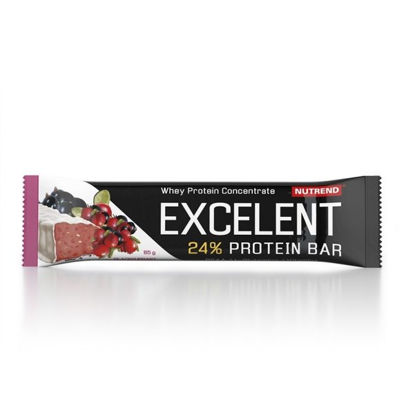 Nutrend Excelent Protein bar 85g - Blackcurrant+Cranberry