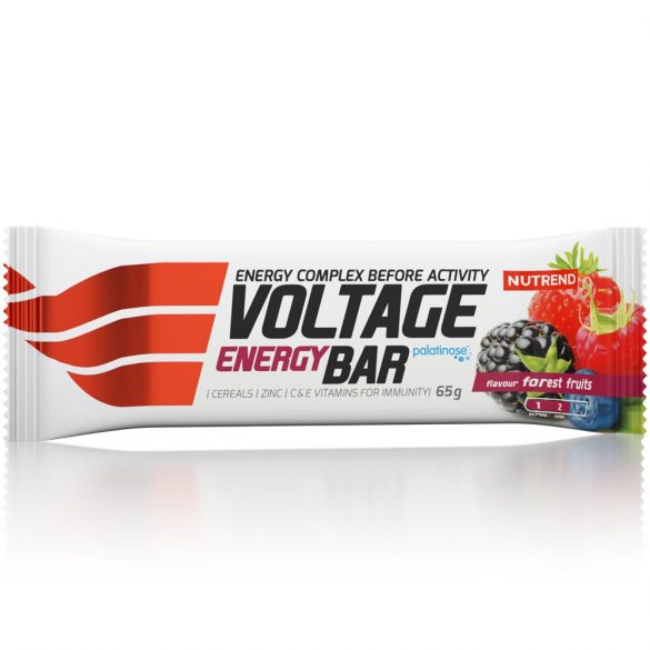 Nutrend Voltage Energy Bar 65g (25) - ForestBerry