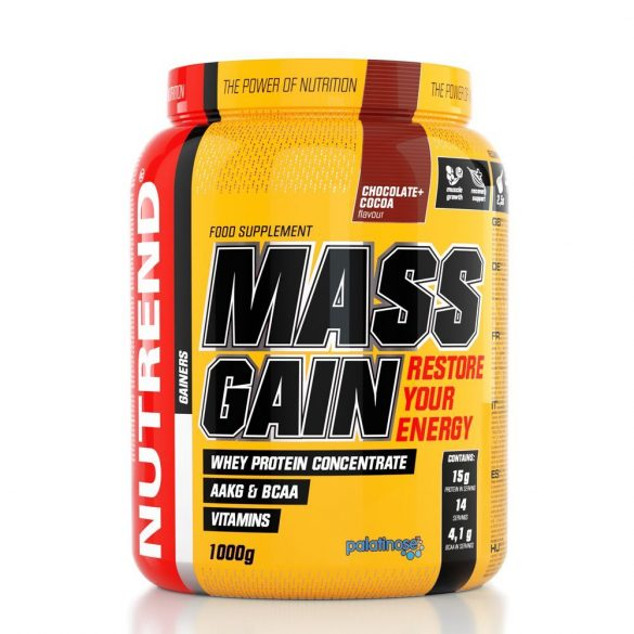 Nutrend Mass Gain 1000g NEW