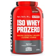 Nutrend Iso whey Prozero 2250 g - chocolate brownies