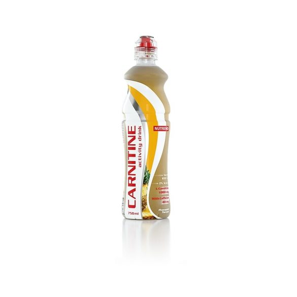 Nutrend Carnitine Activity Drink Koffeinnel 750ml - Pineapple