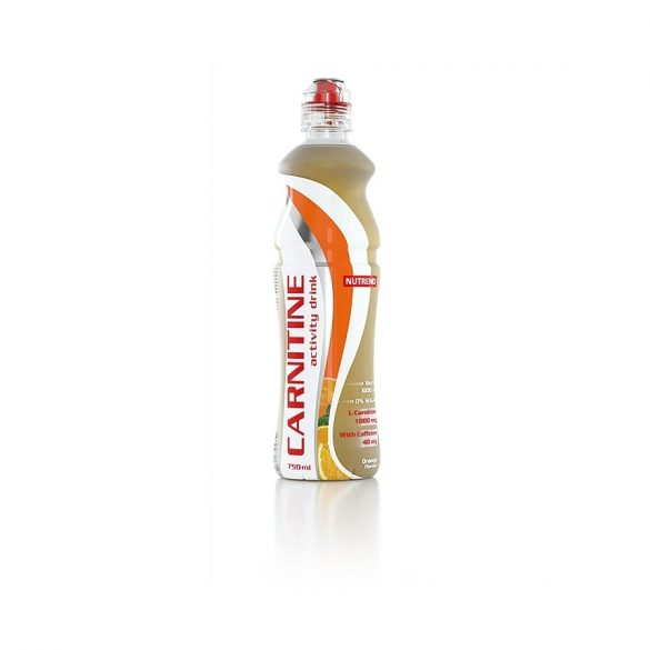 Nutrend Carnitine Activity Drink Koffeinnel 750ml - Orange
