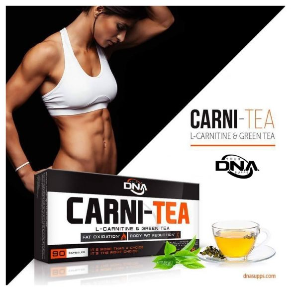 DNA CARNI-TEA - L-CARNITINE & GREEN TEA - 60 kapszula