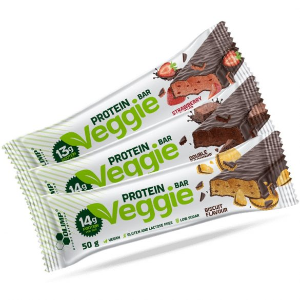Olimp Veggie Protein Bar 50g - Strawberry