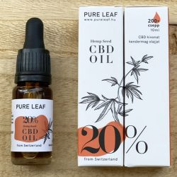 Pure Leaf 20% CBD olaj - 10 ml