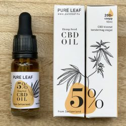 Pure Leaf 5% CBD olaj - 10 ml