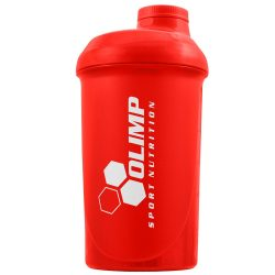 "OLIMP ""GO HARD OR GO HOME"" Shaker 500ml - red"