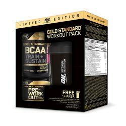 ON Gold Standard Workout Pack limited