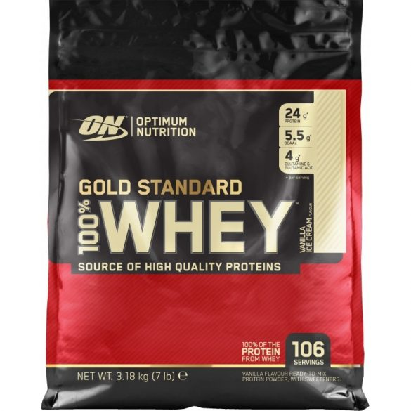 ON 100% Whey Gold Standard 3,18kg - Double chocolate