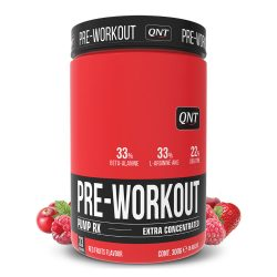 QNT PRE-WORKOUT PUMP-RX 300g - Red Fruit