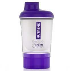 Nutrend Shaker Purple & Opal White + additional cup 300 ml