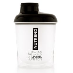 Nutrend Shaker Opal White & Black 300 ml