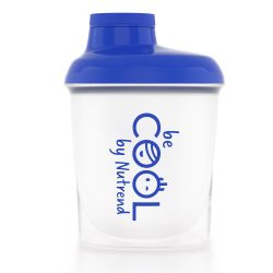 Nutrend Shaker Blue & White COOL 300 ml