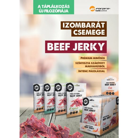 High Protein Beef Jerky - chili 5999104000052