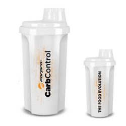 Forpro CarbContorl shaker White - 700 ml