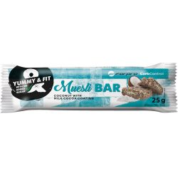Forpro Muesli BAR Coconut with milk cocoa coating - 24x25g 5999104001431 2022.04.13