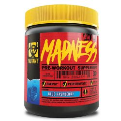 Mutant Madness preworkout Powder 225g - Blue raspberry