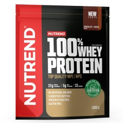Nutrend 100% Whey Protein 1000g - Chocolate + Cocoa