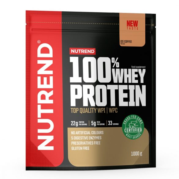 Nutrend 100% Whey Protein 1000g - Ice Coffee