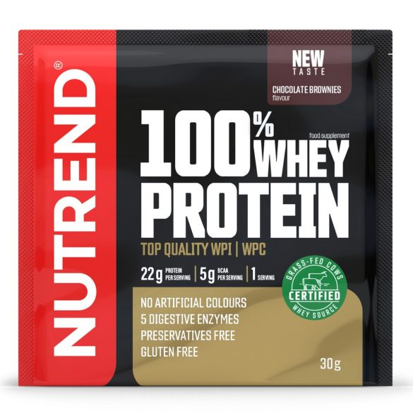 Nutrend 100% Whey Protein 30g - Chocolate Brownies