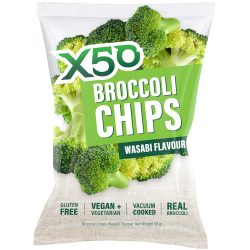 X50 Broccoli Chips Wasabi - 60g