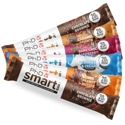 PhD Smart Bar™ 12 x 64 g - Caramel Crunch